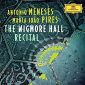 The Wigmore Hall Recital - works by Bach, Brahms, Mendelssoh, & Schubert / Antonio Meneses, cello; Maria Joao Pires, piano
