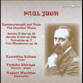 Paul Juon (1872-1940): Chamber Music with viola / Roswitha Killian, viola; Fumiko Shiraga, piano; Rupert Wachter, clarinet