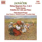 Janácek: String Quartets no 1 & 2, etc/ Vlach Quartet, et al