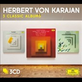 Karajan: 3 Classic Albums - Berg: Three Pieces , Op. 6; Lyric Suite; Schoenberg: Verklärte Nacht; Variations, Op. 31; Pelleas und Melisande; Webern: Passacaglia; Five Pieces, Op. 10; Symphony, Op. 21; Six Pieces for Orch. Op. 6 / Berlin PO