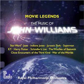 Movie Legends: The Music of John Williams / Kashif, Raine, Ingman & Bateman, conductors; R. Wilson, violin. Royal PO