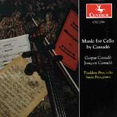 Cassado: Music for Cello / Thaddeus Brys, Susan Brys