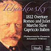 Tchaikovsky: 1812 Overture, Romeo and Juliet, etc / Wildner