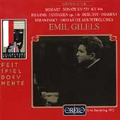Mozart, Brahms, Debussy, Stravinsky: Piano Works / Gilels