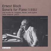 Merit - Bloch: Piano Sonata, etc / John Jensen
