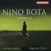 Rota: Concertos / Marzio Conti, I Virtuosi Italiani