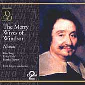 Nicolai: The Merry Wives of Windsor / Rieger, T&ouml;pper, et al