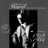 Maurice Ravel - Son oeuvre et son temps Vol 3 - 1918-1934