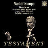 Schubert, Mendelssohn, Weber, Smetana: Overtures / Kempe