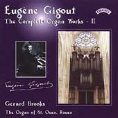 Gigout: The Complete Organ Works Vol 2 / Gerard Brooks