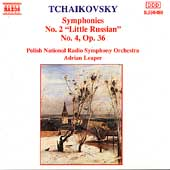 Tchaikovsky: Symphonies 2 & 4 / Leaper, Polish National RSO