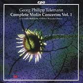Telemann: Complete Violin Concertos Vol 1 / Wallfisch, et al
