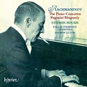 Rachmaninov: The Piano Concertos, etc / Hough, Litton, et al