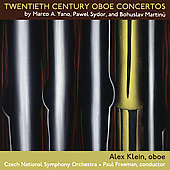 Twentieth-Century Oboe Concertos - Martinu, etc / Klein
