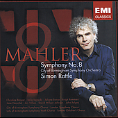 Mahler: Symphony no 8 / Rattle, et al