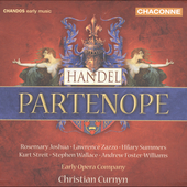 Handel: Partenope / Christian Curnyn, Early Opera Company