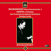 Rachmaninov: Piano Concerto no 2;  Chopin / Brailowsky