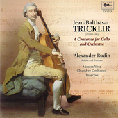 Tricklir: Cello Concertos / Rudin, Musica Viva CO