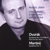 Dvorak: Symphony no 9;  Martinu / J&#228;rvi, Cincinnati SO