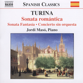 Spanish Classics - Turina: Piano  Music Vol 2 / Masó