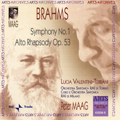 Brahms: Symphony no 1 / Peter Maag, et al