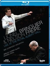 Lionel Bringuier & Nelson Freire Live at the Royal Albert Hall - Chopin: Piano Concerto no 2; Berlioz, Roussel, Ravel, Gluck [Blu-Ray]