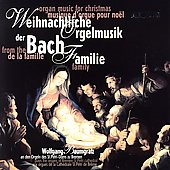 Organ Music for Christmas from the Bach family