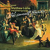 Ffor severall Ffriends - Matthew Locke, et al / Il Dolcimelo