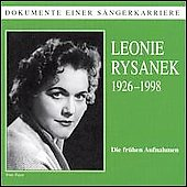 Documents of the Great Singers - Leonie Ryasanek