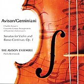 Avison: 12 Concerti Grossi after Geminiani / Avison Ensemble