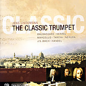 The Classic Trumpet - Hertel, Bach, etc / Lindemann