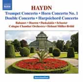 Haydn: Trumpet Concerto, Horn Concerto no 1, etc / M&uuml;ller-Br&uuml;hl, Babanov, Hoeren, Schuster, et al