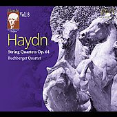 Haydn: String Quartets Complete Vol 8 / Buchberger Quartet