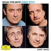 Intimate Letters - Janácek: String Quartets;  Martinu: Madrigals / Emerson String Quartet
