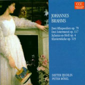Brahms: Rhapsodies; Intermezzi; Scherzo; Klavierst&#252;cke, Op. 119