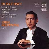 Liszt: Piano in B minor, etc / John Browning