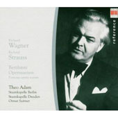 Wagner, R. Strauss: Famous opera scenes / Theo Adam, bass; Otmar Suitner