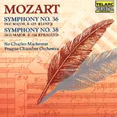 Classics - Mozart: Symphonies 36 & 38 / Mackerras, Prague CO