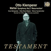 Mahler: Symphony No. 2' Resurrection' / Klemperer