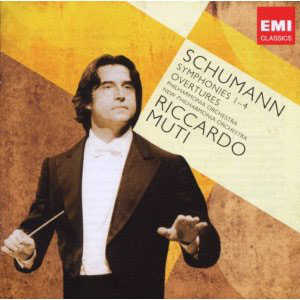 Schumann: Symphonies 1-4 / Muti - Philharmonia & New Philharmonia