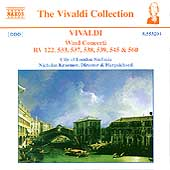 Vivaldi: Wind Concerti / Nicholas Kraemer