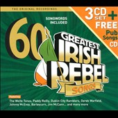 Various Artists: 60 Greatest Irish Rebel Songs [Box]