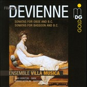 Fran&#231;ois Devienne: Sonatas for Oboe and B.C.; Sonatas for Bassoon and B.C. / Ingo Goritzki, oboe; Sergio Azzolini, bassoon