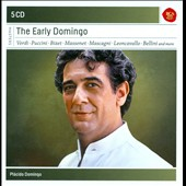 The Early Placido Domingo - Verdi, Puccini, Bizet, Massenet, Mascagni, Leoncavallo, Bellini et al. [5 CDs]