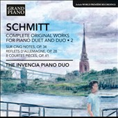 Florent Schmitt: Complete Original Works for Piano Duet and Duo, Vol. 2 / Andrey Kasparov and Oksana Lutsyshyn, pianos