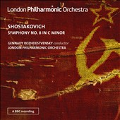 Shostakovich: Symphony No. 8 / Rozhdestvensky, London PO
