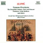 Supp&eacute;: Famous Overtures / Walter, Slovak State Philharmonic