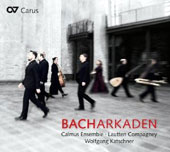 Bacharkaden - Chorales by Bach, Part, Dufay, Purcell, Walter, Buxtehude, Tavener / Calmus Ens.