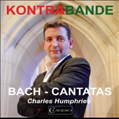 J.S. Bach: Cantatas, BWV 49, & 54; Concerto for Oboe d'amore, BWV 1055 / Charles Humphries, countertenor; Alexandra Bellamy, oboe