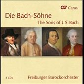 Die Bach-Söhne (The Sons of J.S. Bach) / Freiburg Baroque Orchestra; Goltz